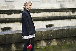 March 4, 2018 - Paris, France - Caroline Daur is seen during Paris Fashion Week Womenswear Fall/Winter 2018/2019, on March 4, 2018 in Paris, France. (Credit Image: © Nataliya Petrova/NurPhoto via ZUMA Press)