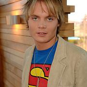 NLD/Baarn/20051229 - Persconferentie finalisten Idols 2005, Christon