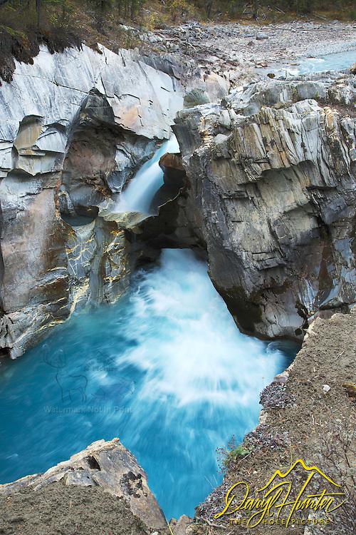 Colman Creek Falls, Icefields Parkway,  Banff National Park