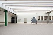 L'interno della nuova fabbrica Mivar, vuota e mai utilizzata, Abbiategrasso 18 marzo 2014. Guido Montani / OneShot
