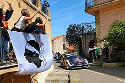 April 7, 2018 - Corse, France - CORSICA Linea - TOUR DE CORSE 2018 Sebastien OGIER, Julien INGRASSIA FORD FIESTA WRC (Credit Image: © Panoramic via ZUMA Press)