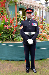 JOHNSON BEHARRY VC at the 2014 RHS Chelsea Flower Show held at the Royal Hospital Chelsea, London on 19th May 2014.