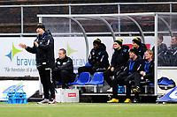 Fotball , 11. November , Adeccoligaen , 1. Divisjon<br /> Notodden - Start<br /> Mons Ivar Mjelde , Henrik Elvestad m.fl. på Starts Benk<br /> Foto: Sjur Stølen , Digitalsport