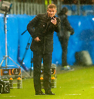 22/10/15 UEFA EUROPA LEAGUE GROUP STAGE<br /> MOLDE FK v CELTIC<br /> AKER STADIUM - NORWAY<br /> Molde manager Ole Gunnar Solskjaer