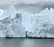 Scenic iceberg in Neumayer Channel, Antarctica.