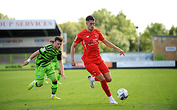 Nicky Cadden of Forest Green Rovers chases down Conor Wilkinson of Leyton Orient- Mandatory by-line: Nizaam Jones/JMP - 05/09/2020 - FOOTBALL - New Lawn Stadium - Nailsworth, England - Forest Green Rovers v Leyton Orient - Carabao Cup
