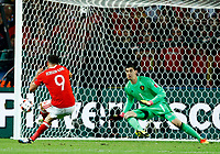 Hal Robson-Kanu (Wales) scoring the goal of 2-1. gol<br /> Lille 01-07-2016 Stade Pierre Mauroy Football Euro2016 Wales - Belgium / Galles - Belgio <br /> Quarter-finals. Foto Matteo Ciambelli / Insidefoto