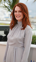 Actress Julianne Moore at the photo call for the film Maps To The Stars at the 67th Cannes Film Festival, Monday 19th May 2014, Cannes, France.