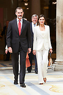 050318 Spanish Royals attends the Presentation of the 'Electronic Biographical Dictionary'