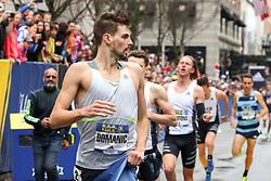 Robert Dominic, Reebok, wins BAA Mile in 4:06.4