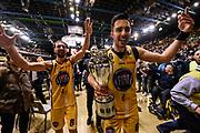 Vujacic Aleksander Poeta Giuseppe<br /> FIAT Torino - Germani Basket Brescia<br /> Postemobile Final 8 2018<br /> Firenze, 17/02/2018<br /> Foto M.Matta/Ciamillo-Castoria