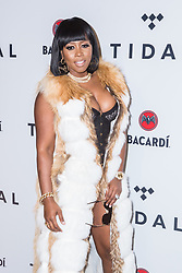 Remy Ma attends TIDAL X: Brooklyn at Barclays Center of Brooklyn on October 17, 2017 in New York City. (Photo by Joe Russo / imageSPACE).