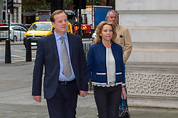 © Licensed to London News Pictures. 06/09/2019. London, UK. Tory MP Charlie Elphicke arrives at Westminister Magistrates' Court to face sexual assault allegations. Photo credit: Peter Manning/LNP