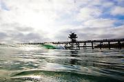 Pier Set in San Clemente California