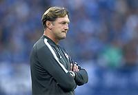 Trainer Ralph Hasenhuettl (Leipzig)<br /> Gelsenkirchen, 19.08.2017, Fussball Bundesliga, FC Schalke 04 - RB Leipzig 2:0<br /> <br /> Norway only