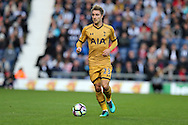 Christian Eriksen of Tottenham Hotspur in action. Premier league match, West Bromwich Albion v Tottenham Hotspur at the Hawthorns stadium in West Bromwich, Midlands on Saturday 15th October 2016. pic by Andrew Orchard, Andrew Orchard sports photography.