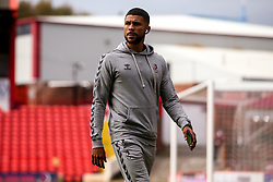 Nahki Wells of Bristol City arrives at Barnsley - Mandatory by-line: Robbie Stephenson/JMP - 17/10/2020 - FOOTBALL - Oakwell Stadium - Barnsley, England - Barnsley v Bristol City - Sky Bet Championship
