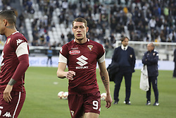 May 3, 2019 - Turin, Piedmont, Italy - Andrea Belotti (Torino FC) before the Serie A football match between Juventus FC and Torino FC at Allianz Stadium on May 03, 2019 in Turin, Italy..Final results: 1-1. (Credit Image: © Massimiliano Ferraro/NurPhoto via ZUMA Press)