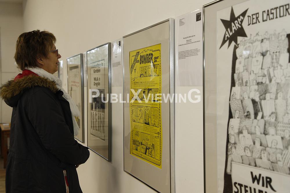 Symbolfoto: Ausstellung von Widerstandsplakaten aus dem Wendland<br /> <br /> Ort: Trebel<br /> Copyright: Andreas Conradt<br /> Quelle: PubliXviewinG
