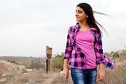 Bat Mitzvah girl on the Titora, Modiin, Israel. Photography by Debbie ZImelman, Modiin, Israel