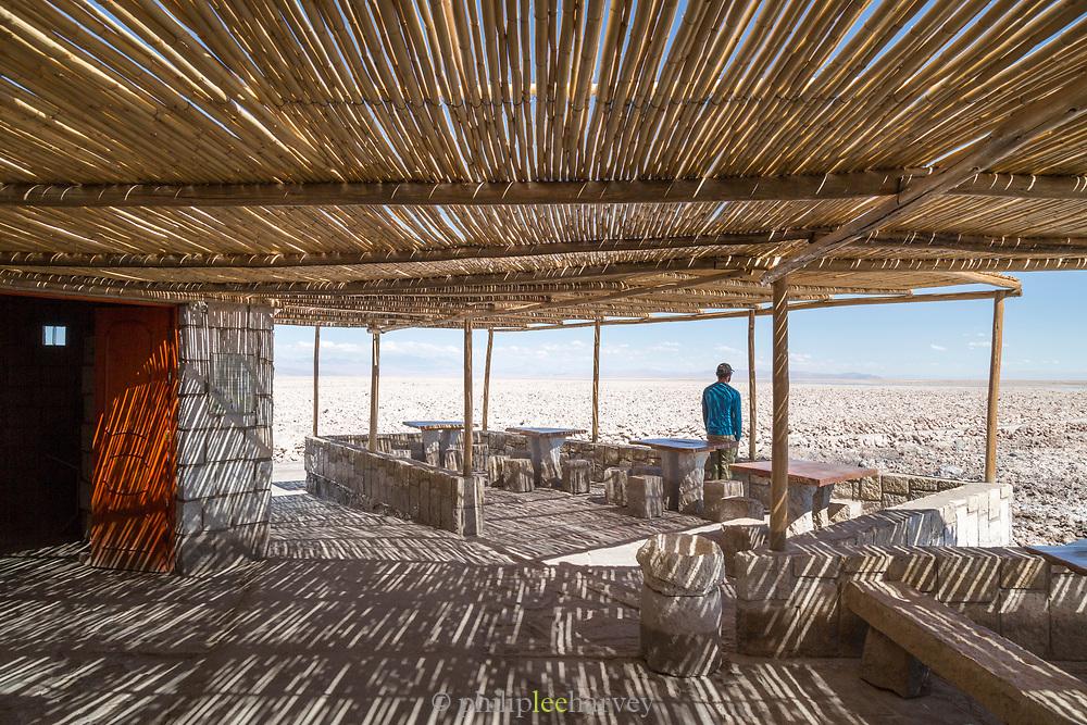 Visitor centre at Salar de Atacama, Atacama Desert, Chile.