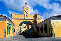 Guatemala - Antigua - Patrimoine mondial de l'UNESCO. Ville coloniale. // Guatemala. Antigua.  UNESCO World heritage. Colonial city.