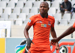 Polokwane City captain Jabulani Maluleke against Cape Town City in an MTN8 quarter-final match at the Cape Town Stadium on August 12, 2017 in Cape Town, South Africa.