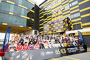 Group picture before the 65th Macau Grand Prix<br /> <br /> 65th Macau Grand Prix. 14-18.11.2018.<br /> Suncity Group Formula 3 Macau Grand Prix - FIA F3 World Cup<br /> Macau Copyright Free Image for editorial use only