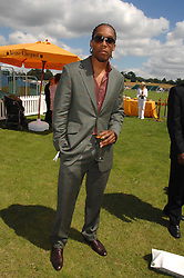 Singer LEMAR at the final of the Veuve Clicquot Gold Cup 2007 at Cowdray Park, West Sussex on 22nd July 2007.<br /><br />NON EXCLUSIVE - WORLD RIGHTS