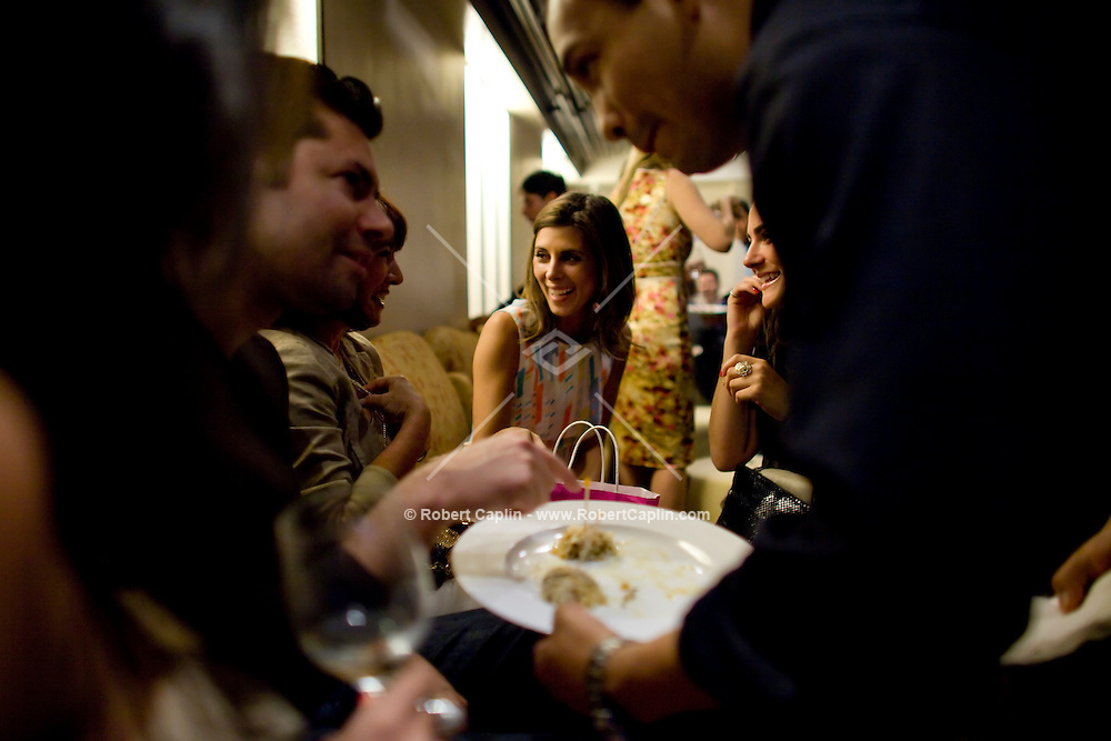Jamie Lynn-Sigler at the opening of Prime KO, a hip new kosher sushi joint at W 85th St. and Broadway in New York...Photo by Robert Caplin