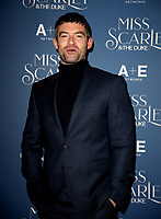 Stuart Martin at the  Miss Scarlet and the Duke World Premiere TV screening at the St. Pancras Renaissance Hotel. London. 03.12.19