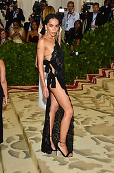 Zoe Kravitz attending the Costume Institute Benefit at The Metropolitan Museum of Art celebrating the opening of Heavenly Bodies: Fashion and the Catholic Imagination. The Metropolitan Museum of Art, New York City, New York, May 7, 2018. Photo by Lionel Hahn/ABACAPRESS.COM