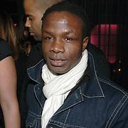 NLD/Amsterdam/20060123 - Feest release film 50 Cent, Regillio Tuur