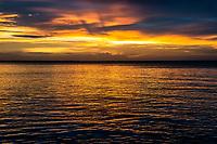 Sunset over tranquil waters, Vamizi Island, Mozambique