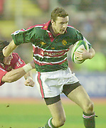 Leicester. ENGLAND. Welford Road. 14.12.2002. Pool Game in the<br /> European Heineken Cup Rugby <br /> Leicester Tigers vs Beziers<br /> Geordan Murphy   [Mandatory Credit:Peter SPURRIER/Intersport Images]
