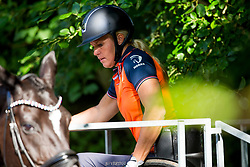 Den Dulk Nicole, NED, Wallace NOP<br /> EC Rotterdam 2019<br /> © Hippo Foto - Sharon Vandeput<br /> 20/08/19