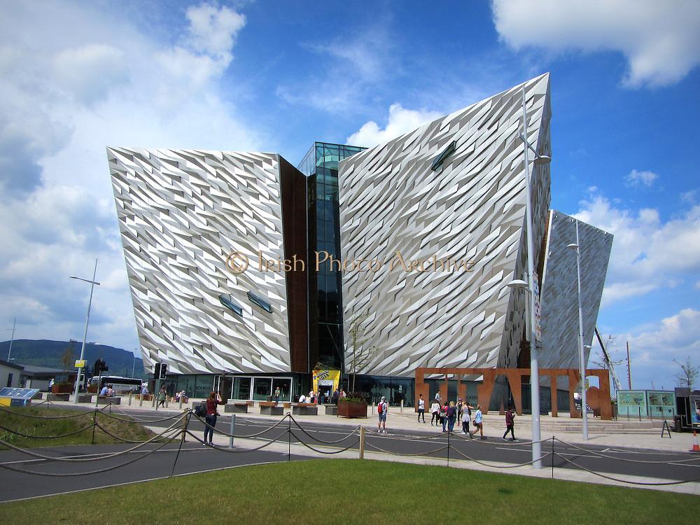 Titanic Belfast Building, Queens Road, Belfast City, 2012,