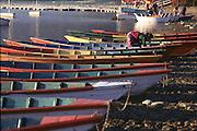Boats on Fewa Lake