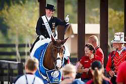 Werth Isabell, GER, Bella Rose<br /> World Equestrian Games - Tryon 2018<br /> © Hippo Foto - Sharon Vandeput<br /> 15/09/2018