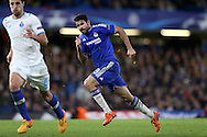 Diego Costa of Chelsea in action. UEFA Champions league group G match, Chelsea v Porto at Stamford Bridge in London on Wednesday 9th December 2015.<br /> pic by John Patrick Fletcher, Andrew Orchard sports photography.