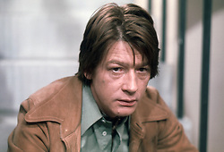 January 27, 2017 - File - Hollywood legend JOHN HURT, Two-time Oscar nominee and Elephant Man actor dead at age 77 after battling cancer and suffering intestinal complaint. The Elephant Man star had a career which spanned more than six decades. Hurt had recently starred in the Oscar nominated biopic, Jackie. The English actor was born in Derbyshire and became a critical and commercial success in films like Midnight Express, Alien and Tinker Tailor Soldier Spy. Pictured:  June 15, 1977 -  John Hurt as Dave..'Treats' TV Programme. - 1977..Two men, one woman, three relationships. (Credit Image: © Itv/Rex Shutterstock via ZUMA Press)