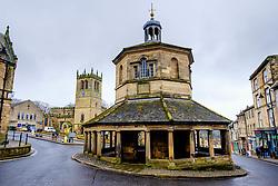The 'Butter Market' in Market Place, Barnard Castle, Teesdale, County Durham, England takem from inside the 'Butter Market'.<br /> <br /> (c) Andrew Wilson | Edinburgh Elite media