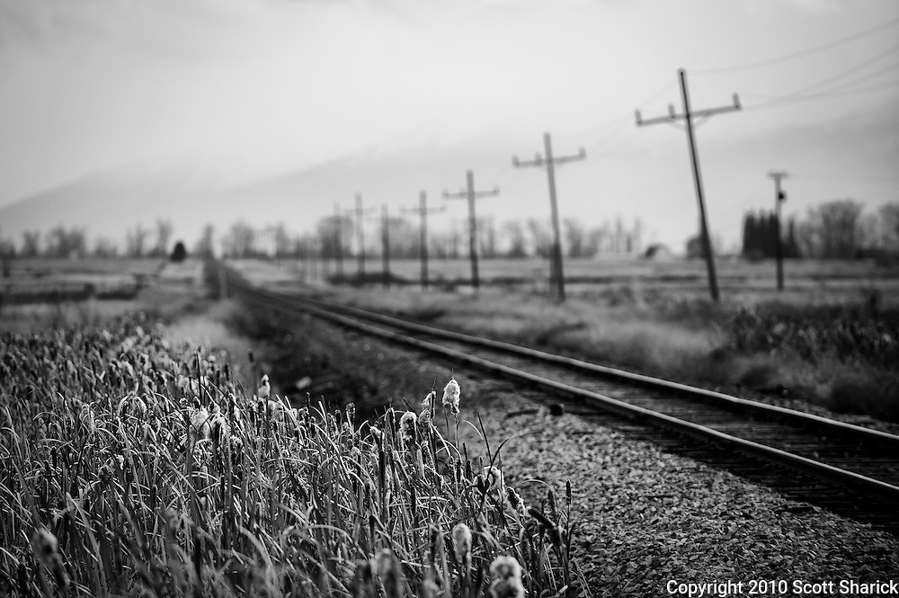 There is always something I find intriguing about railroad tracks. I suppose knowing that it is yet one more way to get from point A to point B that makes me want to follow them.