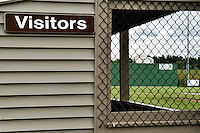 "Home of the Muskrats baseball team at Robbie Mills Field now sports a ""Green Monster"" with the collaborative efforts of Lakes Region Home Builders."