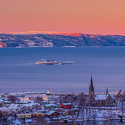 website: www.aziznasutiphotography.com                                        This picture has been taken ifrom Utsikten towards the Trondheimsfjord