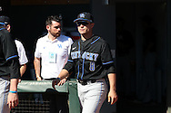 19 February 2017: Kentucky's Storm Wilson. The University of North Carolina Tar Heels hosted the University of Kentucky Wildcats in a College baseball game at Boshamer Stadium in Chapel Hill, North Carolina. UNC won the game 5-4.