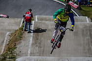 #551 (FRIESWYK Corey) AUS during round 4 of the 2017 UCI BMX  Supercross World Cup in Zolder, Belgium.