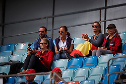 Spanish supporters playing the Castanets<br /> FEI European Driessage Championships - Goteborg 2017 <br /> © Hippo Foto - Dirk Caremans<br /> 26/08/2017,