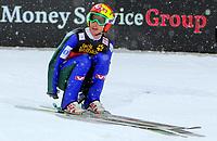 Hopp ,28.desember2010,<br /> OBERSTDORF,DEUTSCHLAND,28.DEZ.10 - SKI NORDISCH, SKISPRINGEN - FIS Weltcup, Vierschanzen-Tournee, Training und Qualifikation. Bild zeigt Johan Remen Evensen (NOR). <br /> <br /> Norway only