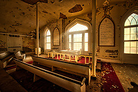 The old chapel in the former Western State Hospital in Staunton, VA.